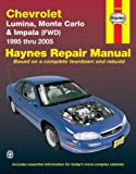 img - for Chevrolet Lumina, Monte Carlo & Impala (FWD) 1995 thru 2005 (Haynes Repair Manual) book / textbook / text book