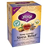 YOGI TEA ヨギティー Stress Relief ハニーラベンダーストレス リリーフ ティー【海外直送】【並行輸入品】