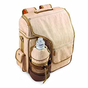 Picnic Time Turismo Insulated Backpack Cooler, Botanica