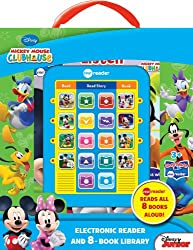 Mickey Mouse Clubhouse Electronic Reader and 8 Book Library