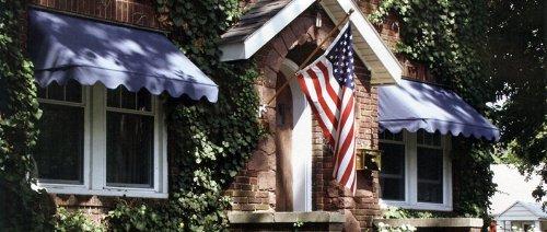 American Window Awnings - Sunbrella Fabric Classic Style Awning