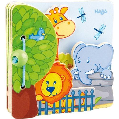 Haba 300129 Meine erste Spielwelt Zoo - Babybuch Zoofreunde