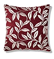 Chenille Leaf Cushion