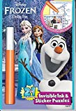 Frozen Invisible Ink Book 2 Chilly Fan
