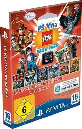 Sony Speicherkarte 16Gb Inklusive Lego Mega Pack [Importación Alemana]