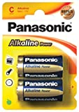 Panasonic Battery Alkali Baby (C) Blister, Panasonic - Alkaline Power Lr 14 Pap 2-Bl Panasonic Alkaline Power