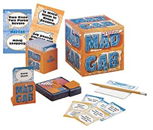 Mad Gab Family Game Bible Edition