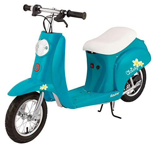 Razor Pocket Mod Electric Scooter, Chrissy Turquoise (Razor Electric Mod Scooter compare prices)