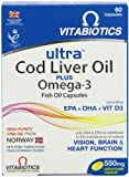 Ultra 2-in-1 Cod Liver Oil and Omega3 Capsules- Pack of 60
