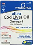 Ultra 2-in-1 Cod Liver Oil and Omega3...