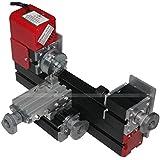 Metal Mini Motorized Lathe Machine Woodworking DIY Power Tools Hobby Modelmaking