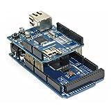 サインスマート(SainSmart)MEGA(ATmega2560搭載) 互換ボード+ イーサネット シールド for Arduino