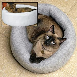 Kuddle Kup Eco-Friendly Cat Bed/Play Tunnel Color