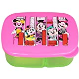 Disney Minnie Lunch Box, 450ml, Pink/Green - B00V65TODM