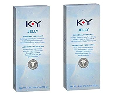 K-Y KY Jelly Personal Lubricant Water Based Gel Size 4 Oz / 113g.