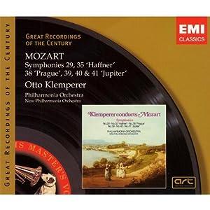 Mozart: Symphonies 29, 35 'Haffner', 38 'Prague', 39, 40 & 41 'Jupiter'