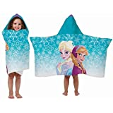 Disney Frozen Hooded Towel Wrap / Cape - Elsa and Anna