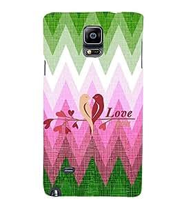 EPICCASE nature love Mobile Back Case Cover For Samsung Galaxy Note 4 (Designer Case)