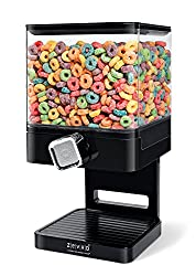 Zevro Compact - Cereal Dispenser - Black
