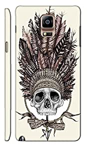 Aatank Premium Printed Mobile Case Back Cover for Samsung galaxy Note 4
