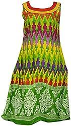 Unhi Kurtas Women's Rayon Slim Fit Kurta (3132-36, 36)