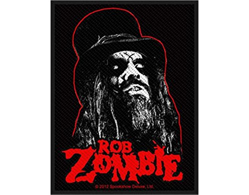 Rob Zombie - Portrait - Toppa/Patch