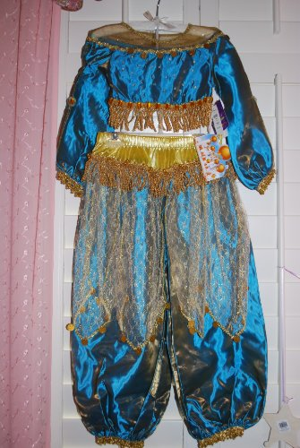 Disney Store Exclusive Princess Jasmine Costume Aladdin 5 6 Small