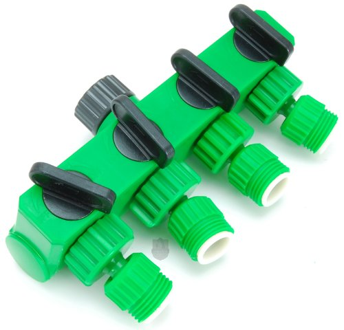 Log Splitters Online Stores Aqua Plumb 4 Way Garden Hose Swivel