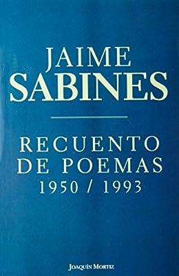 Recuento de poemas (Spanish Edition)