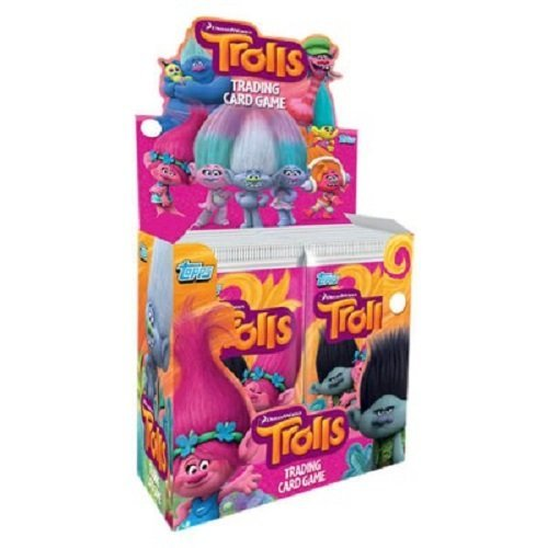 5x-Topps-Dreamworks-Trolls-Trading-Card-Game-Booster-Pack-5-Packs-by-Dreamsworks-Trolls