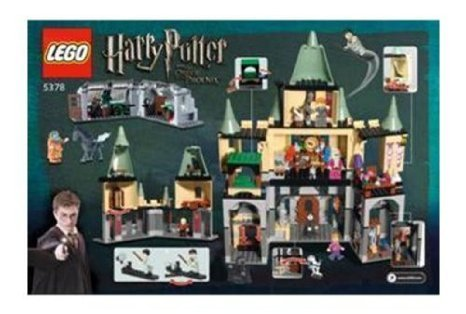LEGO ( LEGO ) Harry Potter ( Harry Potter ) Hogwarts Castle block toys ( parallel imports )