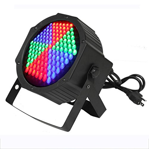 Yiscor Stage Lighting Led Par Light 127Leds Rgb Dmx512 For Home Garden Party Wedding Dj Disco Club Effect (Pack Of 1)