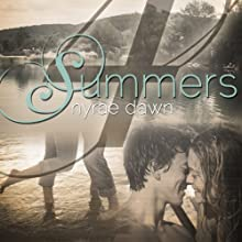 Four Summers (       UNABRIDGED) by Nyrae Dawn Narrated by Vanessa Johansson, Aaron Landon