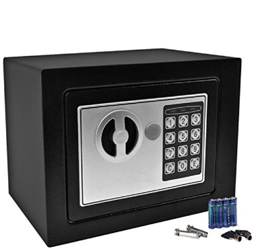 Durable Keypad Lock Home Hotel : Durable Digital Electronic Safe Box Keypad Lock Home Office Hotel Gun Black : Safe Box Office Electronic (Document Of Metal Gear Solid 2 compare prices)