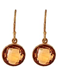 Designers Jewelry Yellow Gold Plated .925 Sterling Silver Earrings For Women - B00R36OSYS