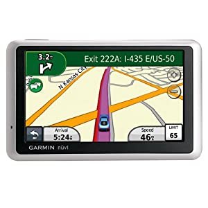 Garmin nüvi 1350/1350T 4.3-Inch Widescreen Portable GPS Navigator with Lifetime Traffic $99.99