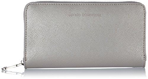adolfo-dominguez-pochette-femme-argent-argent-metallique-taille-unique