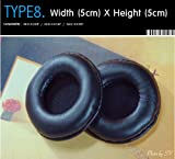 Earpads Replacement for headset, Compatible with AKG-K26P, AKG-K414P, AKG-K416P, etc. (Packaged 1 pair (2 pieces)) Type 8