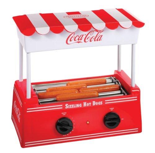 Nostalgia Electrics Coca-Cola Series Hdr565Coke Hot Dog Roller Home Supply Maintenance Store