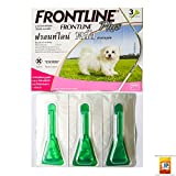 Shop 24hours Product Offering Frontline Plus for Dog Kills Fleas , Flea Eggs & Ticks for Dogs, Puppies, 8 Weeks of Age Weighing Less Than 5 Kg.0-5 Kg (0-11 Lbs) 1 Box= 3 Tube.