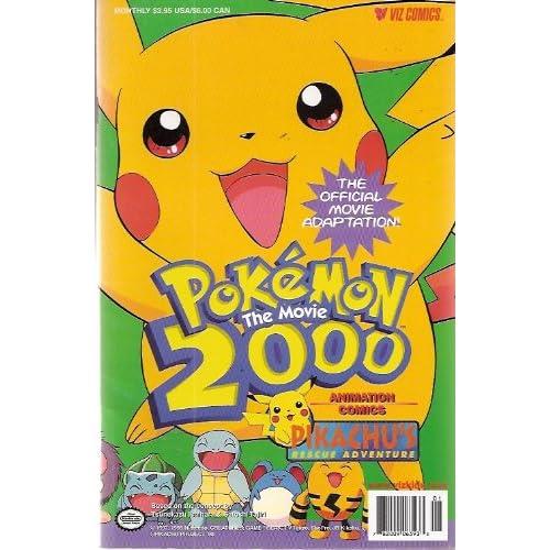 Pokemon The Movie 2000 Pikachu's Rescue Adventure: Amazon