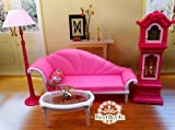 Princess Doll Lovely Luxury Living Room Furniture Set 2 Pretend Play