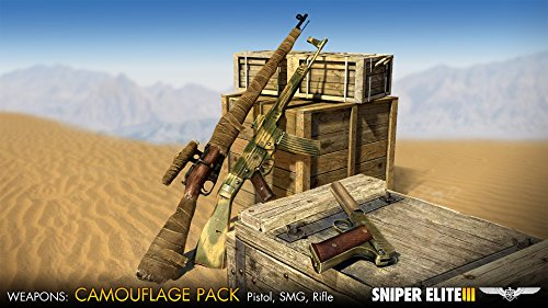 Sniper Elite 3 - Camouflage Weapons Pack Dlc [Online Game Code] front-965477