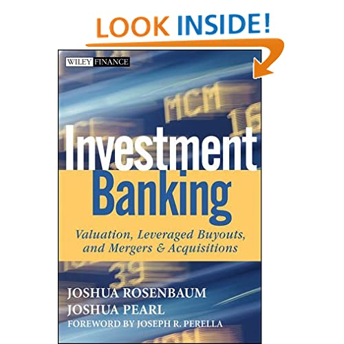 Investment Banking Explained Book