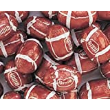 Foiled Milk Chocolate Footballs 1LB Bag