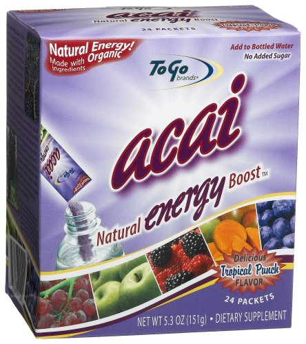 To Go Brands Acai Energy, 24-Count Boxes