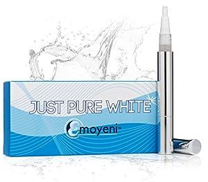 Teeth Whitening Gel Pen - Professional High Grade Kit - 100% Money Back Guarantee - Zero Peroxide & No Strips - Natural Ingredients