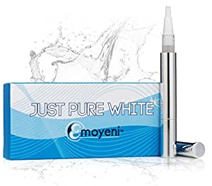 Dentist Teeth Whitening Pen - Latest Premium Gel From California - Professional High Grade Kit - Zero Peroxide No Strips - Natural Ingredients - *FREE* Hollywood's Dentist Tips *FREE* Weight Loss Tips