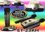 Magic Sing ET23KH HD Resolution Karaoke System for ET19KV, 2013 New English Edition, 2 Wireless Microphones with 2100 Songs