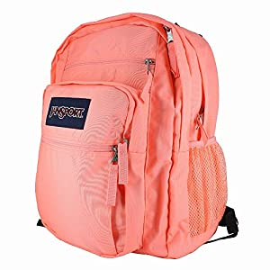 JANSPORT BIG STUDENT CORAL PEACH BACKPACK